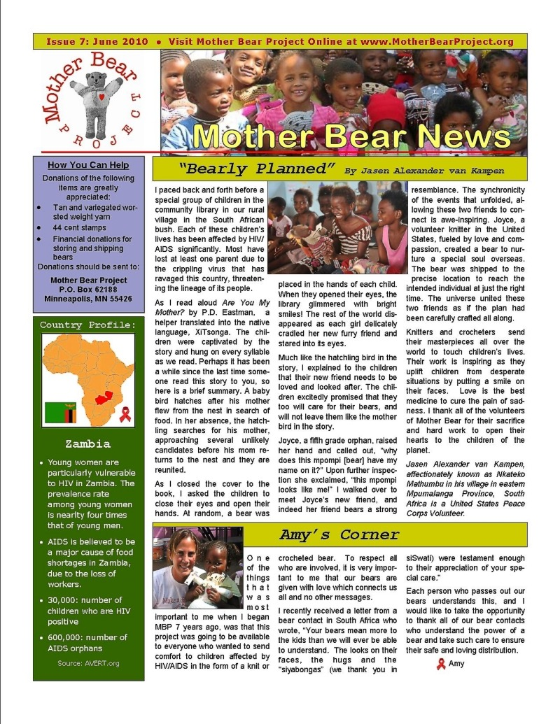 March 2010 Newsletter