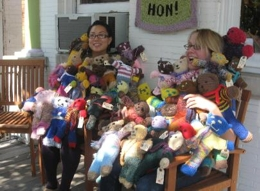 Bears at Lovelyarns