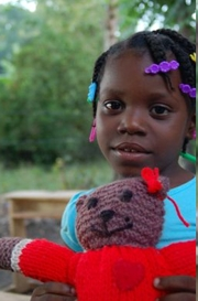 Haiti recipient of a Mother Bear